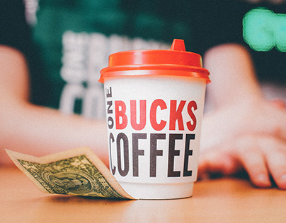One Bucks Coffee — This coffee knows its price