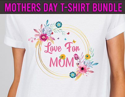 Mothers Day T-Shirt Design Bundle