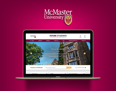 McMaster Future Students Redesign