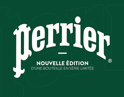 TOTAL COVERING D'UNE BOUTEILLE PERRIER