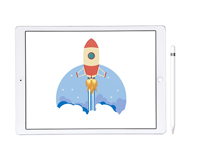 Rocket Icon Design & Animation with PowerPoint