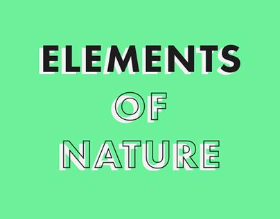 Elements of Nature Calendar