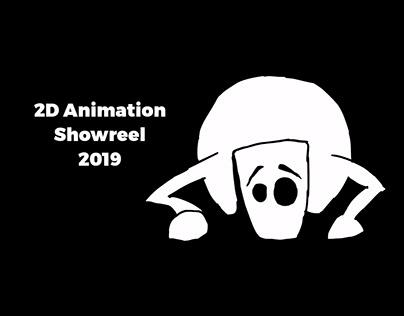 2D Animation Showreel 2019