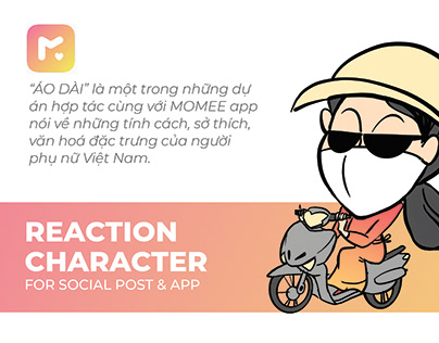 ÁO DÀI - Reaction character