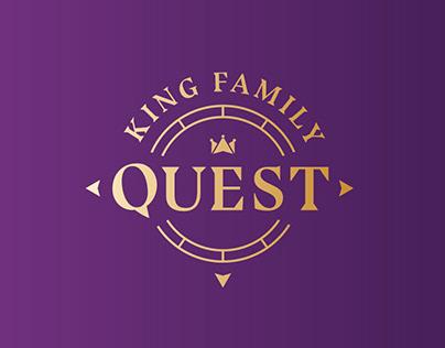 King Family Quest Branding