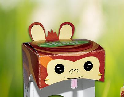 BABY FOOD reusable Packaging