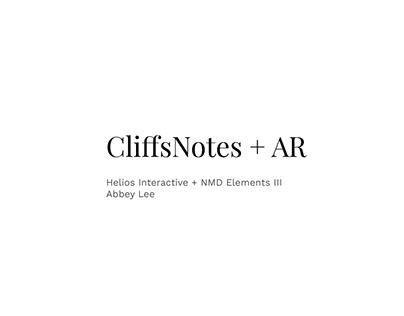 CliffsNotes + AR