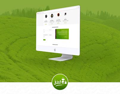 Justea - Web UI/UX
