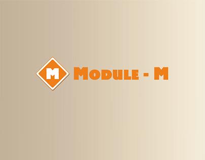 """Update logo for furniture company """"Module – M""""."""