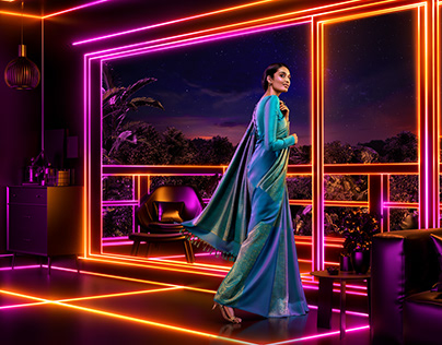 Nalli Silks / Cgi & Photography