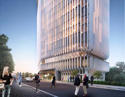 Office building Kiev by AVG group
