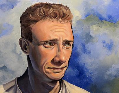 Awake: Self-Portrait