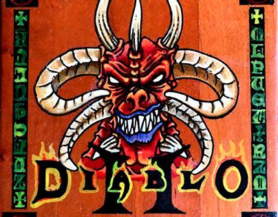 Diablo 2 sous-verre