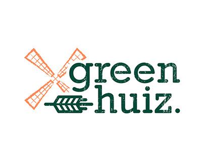 GreenHuiz Logo Design