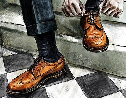 Grant Stone Shoes illustrations