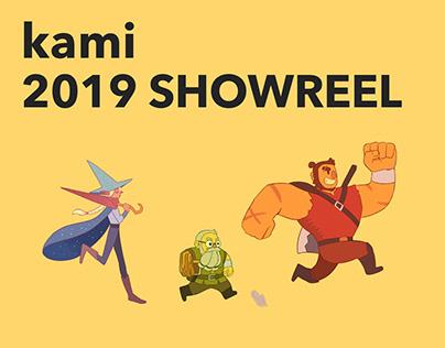 KAMI 2019 SHOWREEL