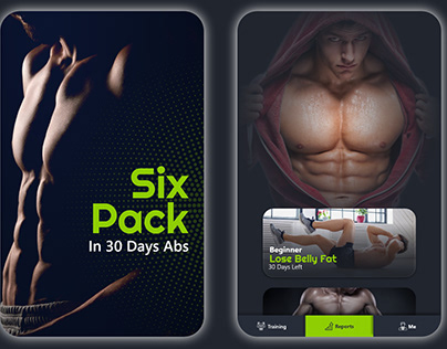 Six Pack ABS, Android App, Screenshot, Icon