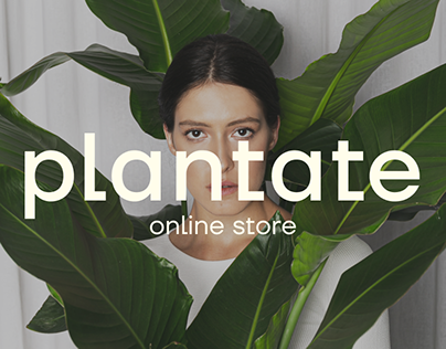 Online store of home plants