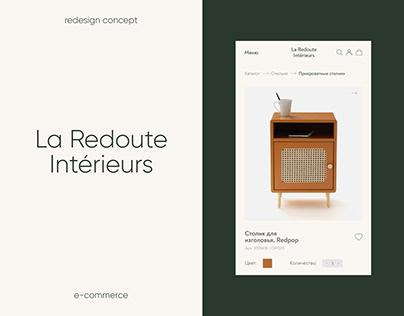 La Redoute Interieurs — e-commerce concept
