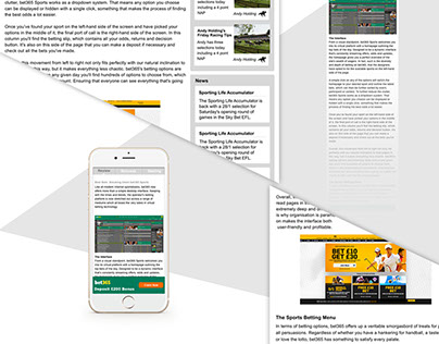 review page redesign