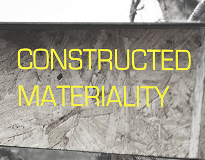 Constructed Materiality exhibition