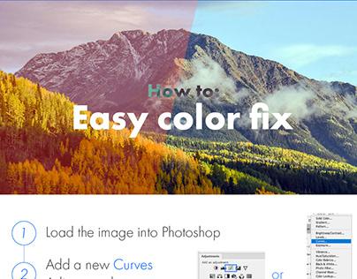 Photoshop Protip: Easy color fix