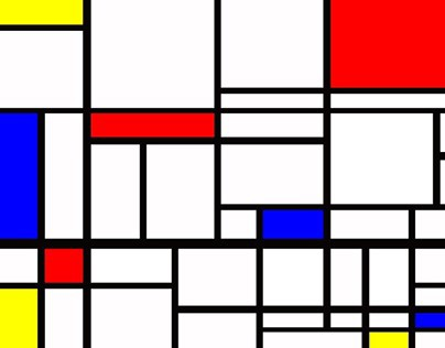 Mondrian Business Card