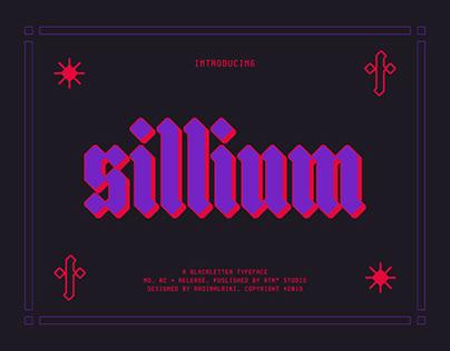 Sillium Typeface