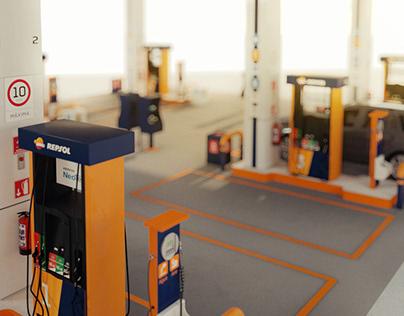 CGI Petrol Station | Repsol Mexico