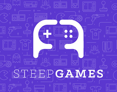 Logo for game portal