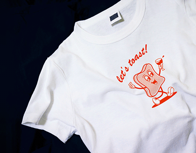 T-shirt | Let's toast!