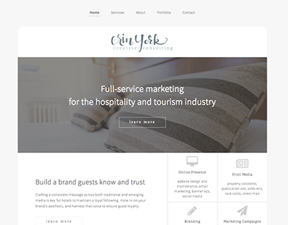 Hospitality Consulting Website