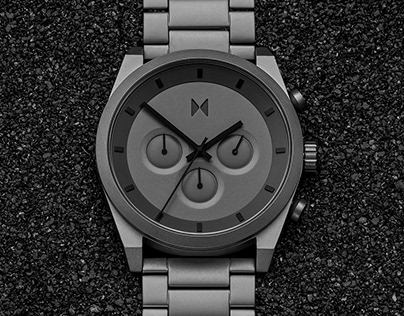 Reimagined chronograph watch