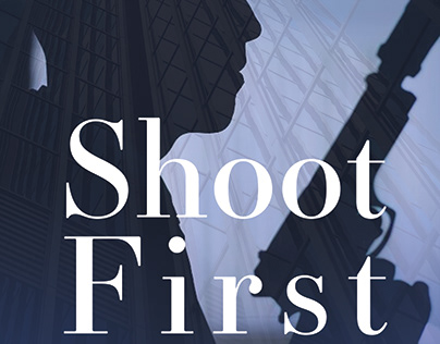 Book Cover | Shoot First