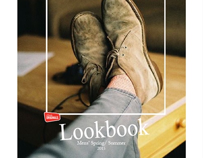Catalog Design: Clarks Shoes