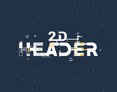 Clean 2D Header