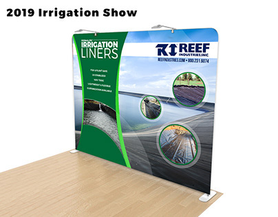 Trade Show Booth Design Irrigation Liners