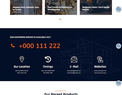 Building Construction Website