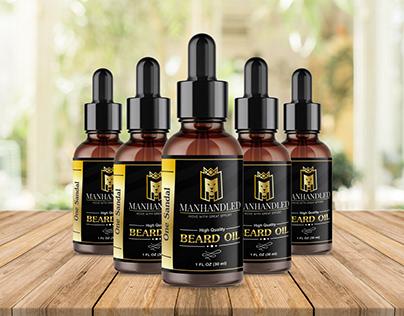 Beard Oil label