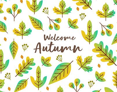 Autumn Leafs Pattern