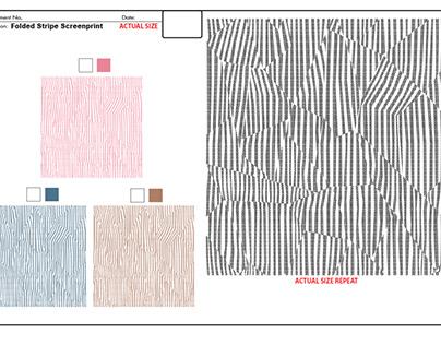 Folded Stripe