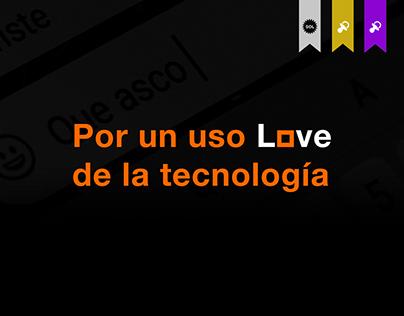 Por un uso Love de la tecnología | Orange