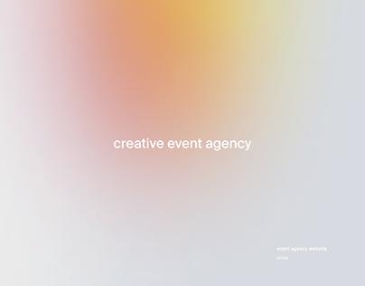 Advanza Event Agency Website