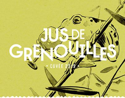 Jus de Grenouilles (Frog Wine)