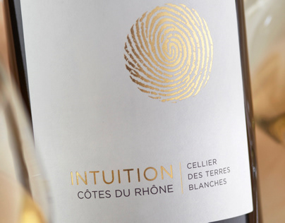 Intuition Wine Label
