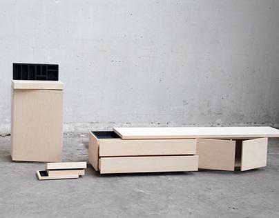 Secret Storing Furniture