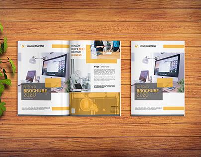 Brochure Design 4 Page