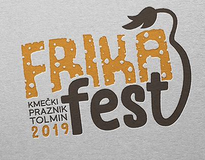 FRIKA FEST   identity concept design