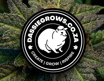 DassieGrows Logo and Character Design