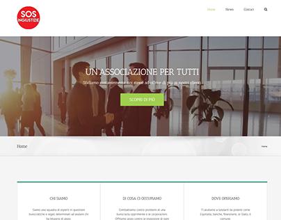 SOS Ingiustizie website